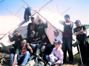 2005 Marilyn Field -Aboriginal program at Fort Albany (2)