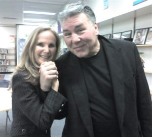 Marilyn and George Chuvalo